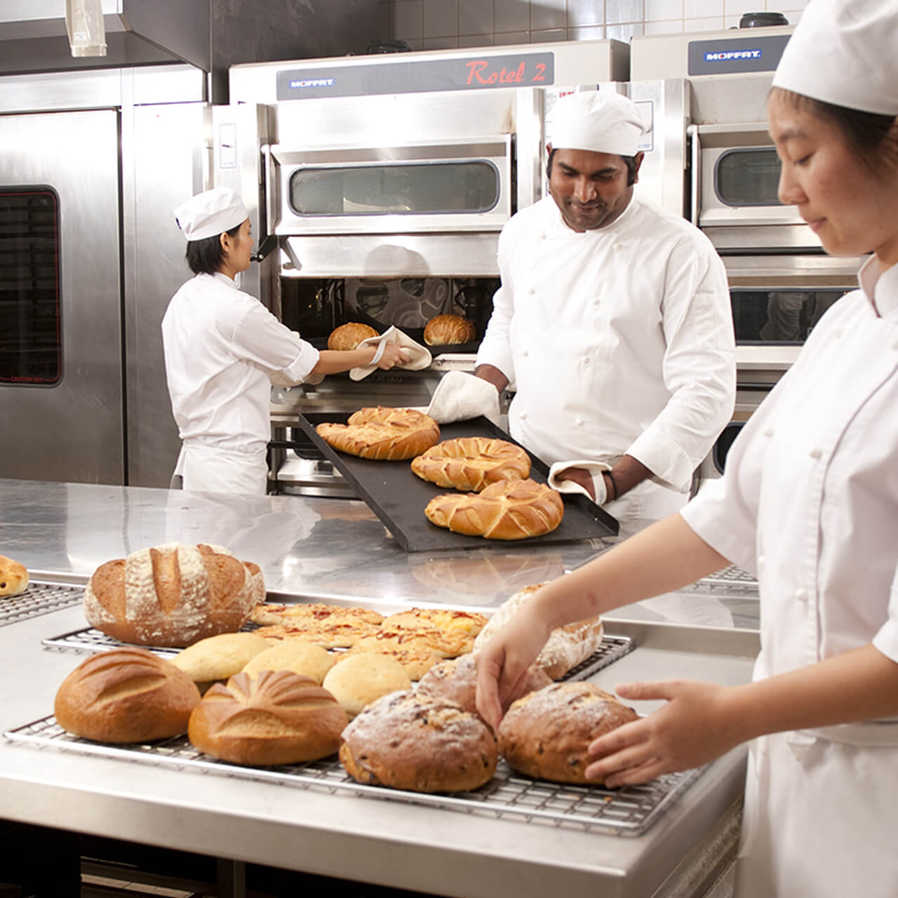 bakery workers